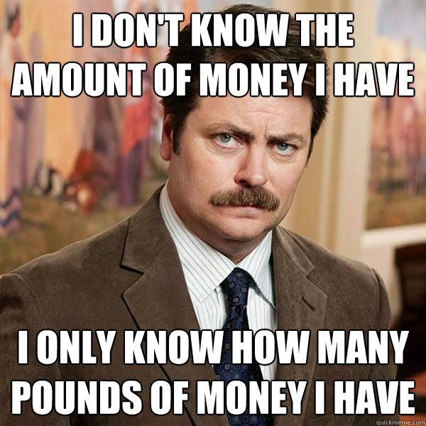 ron swanson money meme?height=320&width=320 honors personal finance mr taylor's classes