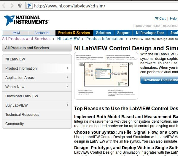 A Labview Control Design And Simulation Module Computer Aided Control Systems