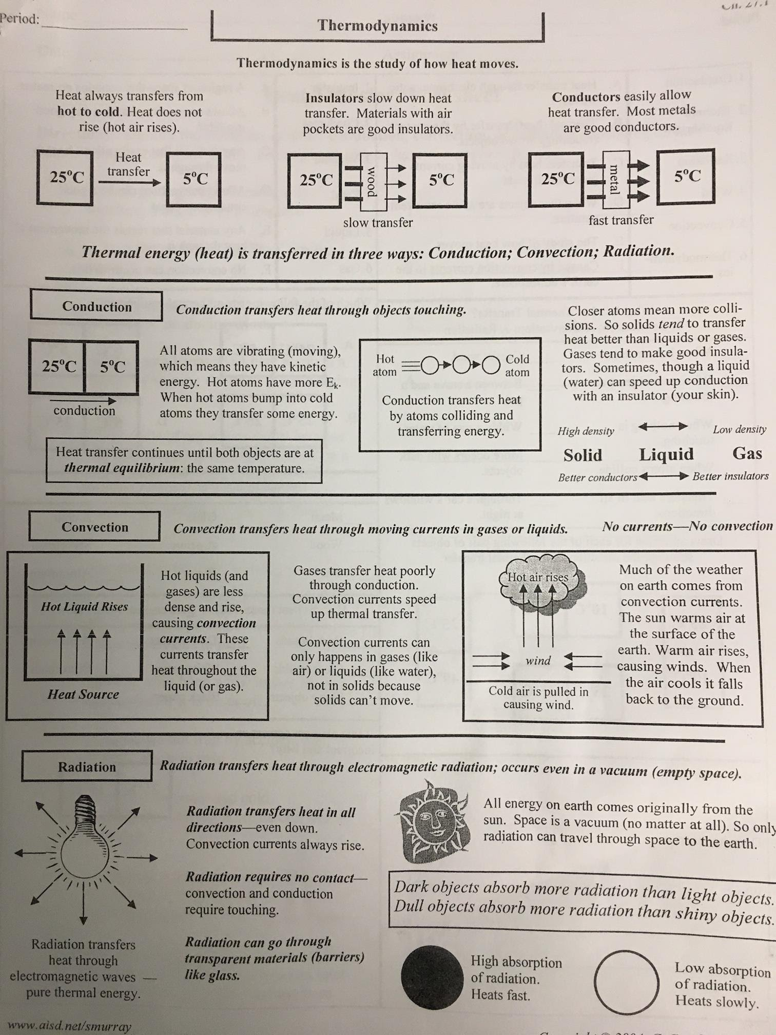 Homework Assignments Mr Yetters Science Class
