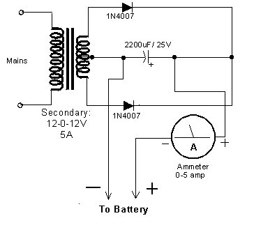 Symmetric Power Supply 35v And 35v in addition 6 also TM 5 4240 501 14P 219 in addition Schematic Telephone Line Detector also Rechargerwrite Up. on battery charger rectifier diode