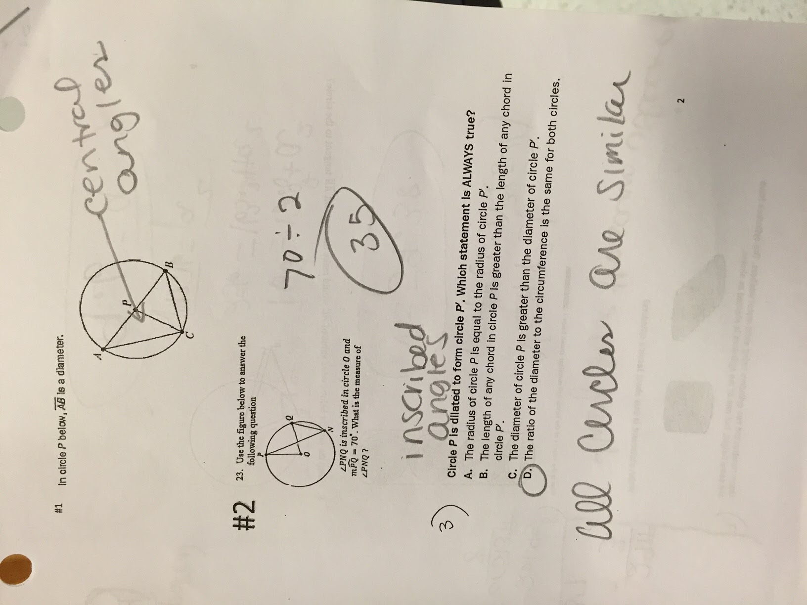 Ms  Parks WHS Geometry