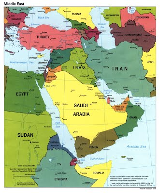 Sample Lesson- Geography of the Middle East - Ms. Salyers Class