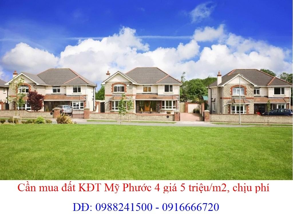 Cần mua đất đường N7, đường N11, N13, N15, đường N16, Mỹ Phước 4 giá 10 triệu/m2