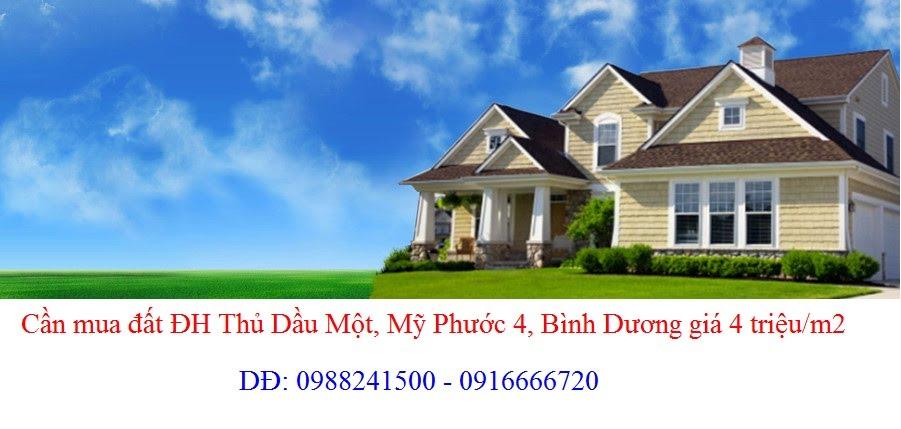 Cần mua đất đường NA1, đường NA2, NA3, DA1, DA2, DA3, Mỹ Phước 4 giá 15 triệu/m2