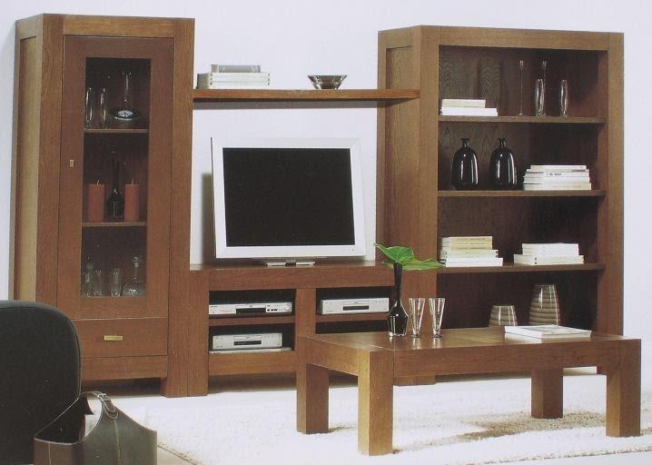 Librerias mueblesrobletocoa for Librerias modulares salon