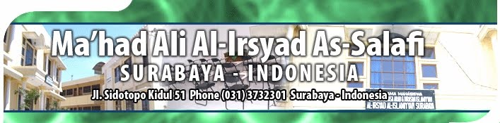 MA'HAD ALI AL-IRSYAD AS-SALAFI