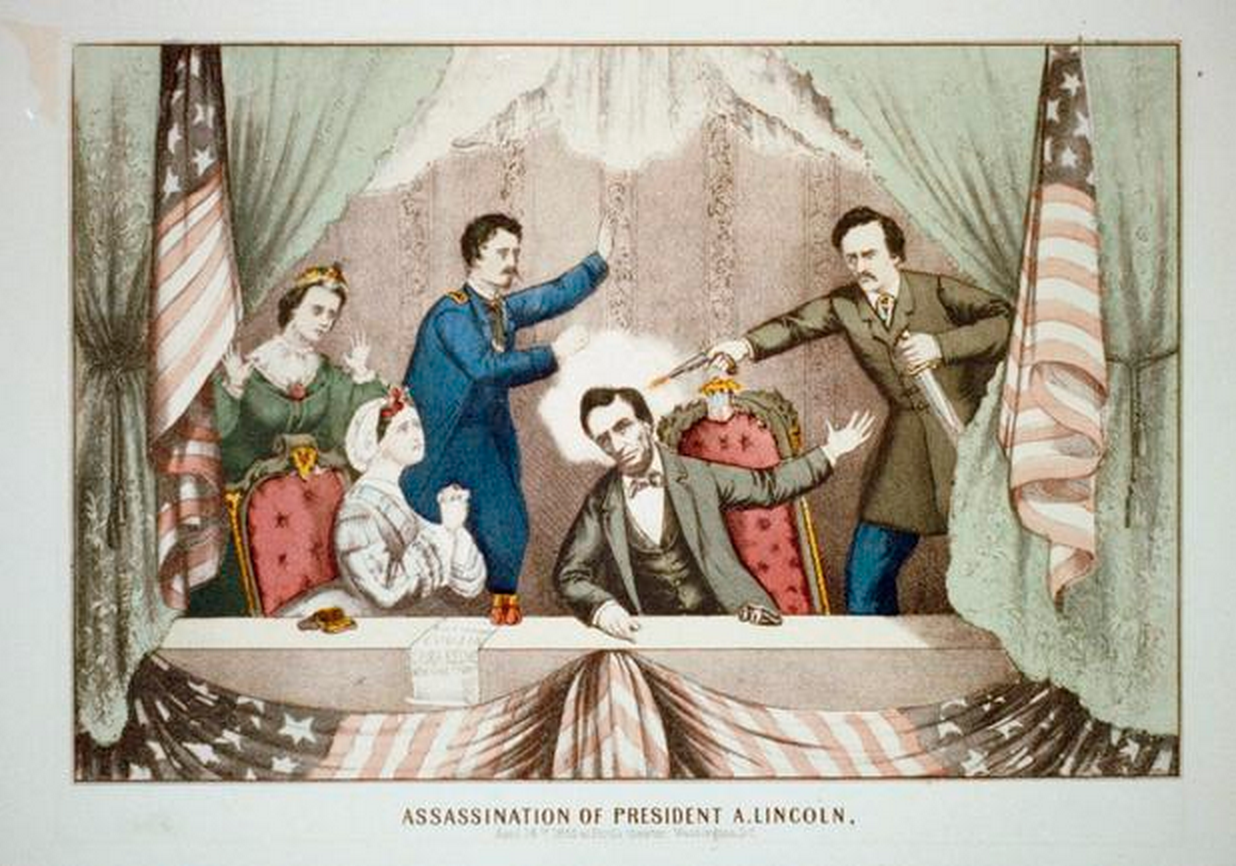 Photo Essay  The Assassination Of Abraham Lincoln Retrieved From Httpwwwcbsnewscompicturesabraham Desk Organization Tips also What Is A Thesis Statement In A Essay Thesis Statement For Comparison Essay