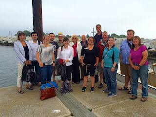 Munson 2015 on the docks at Avery Point