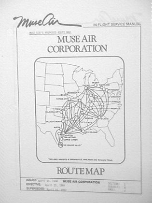 Air Route Map Routemaps & Timetables   MuseAir.com