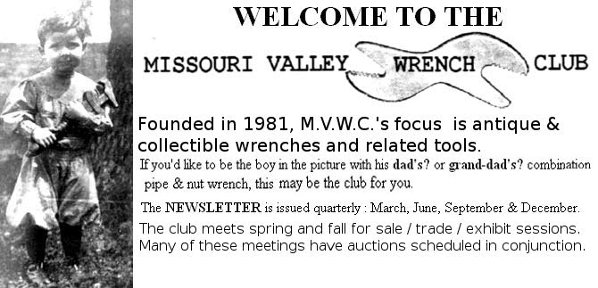 MVWC masthead with club purpose, and history.
