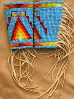 Woman 39 s northern traditional regalia my beadwork crafts for What crafts did the blackfoot tribe make