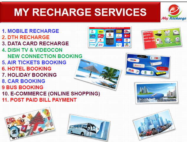 My Recharge Pvt  Ltd  (Recharge Mobile, DTH & lot more)