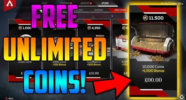 how to get free apex coins pc