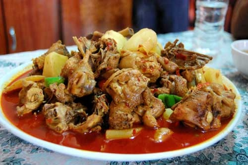Uyghur Dapanji Chicken My Foods Site