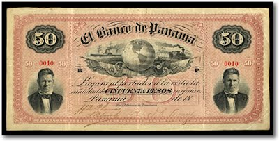 Panama Uses The Us Dollar For Bills But National Currency Is Called Balboa Bank Notes Are Not Printed So Since 1904 Has Been Legal