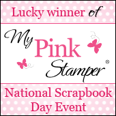 MPS National Scrapbook Day Event Winner