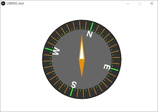 Project#18 OLED Compass LSM303DLH (applied on DIY wind Vane