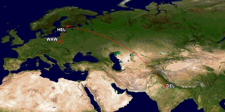 Flight diary maps - MY WORLD Artur Anuszewski