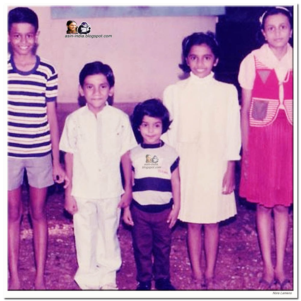 indian actress asin childhood photo 2/8