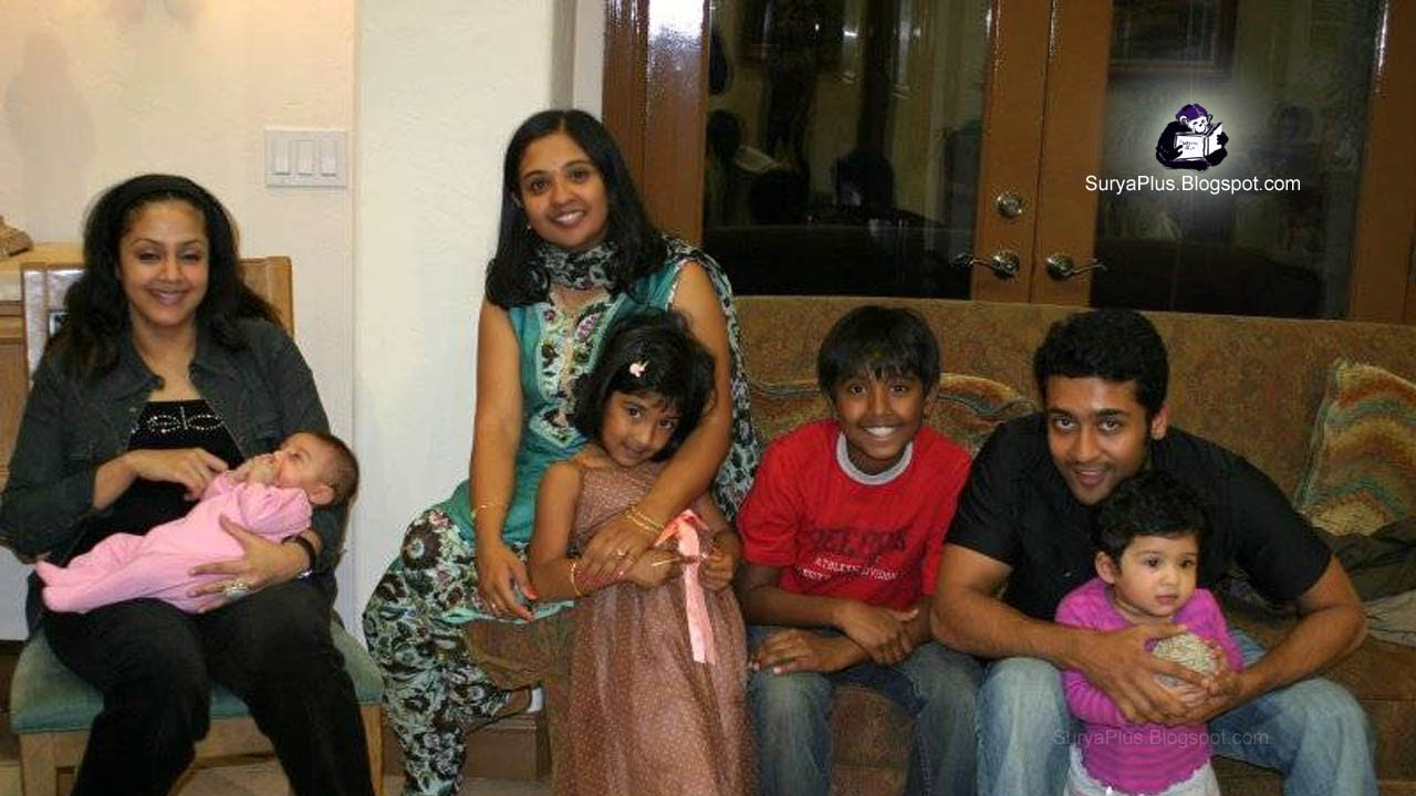 Surya jyothika Family Photo Album: surya 9
