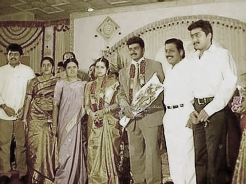 tamil actor vijay wedding photo