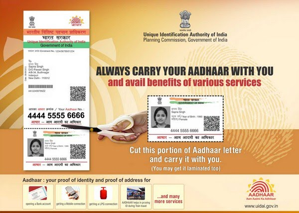 resident uidai gov in home