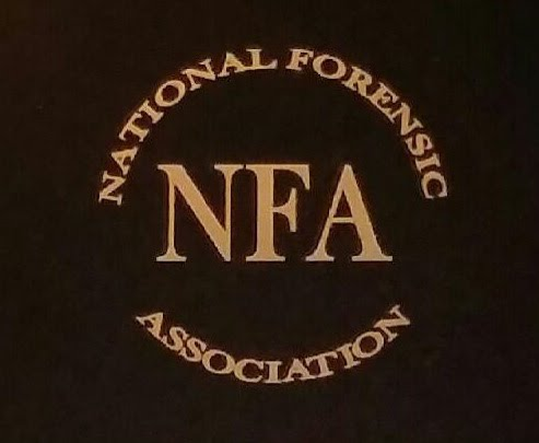 National Forensic Association graphic