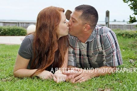 Engagement pictures are free at Cocoa Beah Pier with any wedding photo package