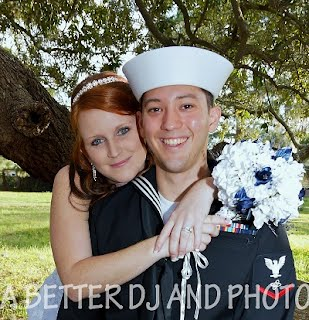 Military weddings always get discounts on their wedding photography package