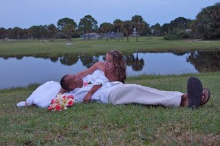 after ceremony wedding pictures can be very romantic