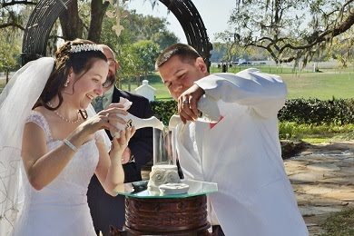 Sand or candle ceremony pictures are included in every wedding photography package