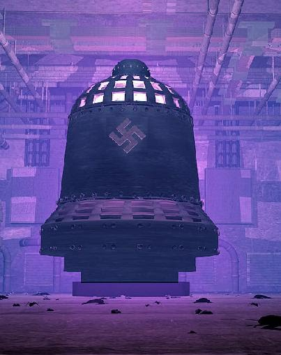 """nazi bell project A few have suggested, based on the size and shape of it, that it might have been  """"the nazi bell,"""" a world war ii-era experiment related to gravity."""