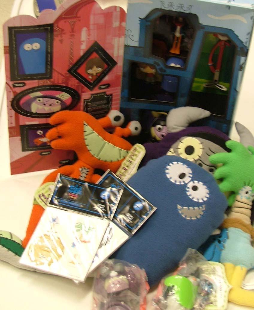 Cartoon Network Toys : Auction nbstelethon