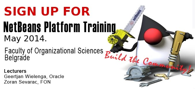 NetBeans Platform Training Sign Up