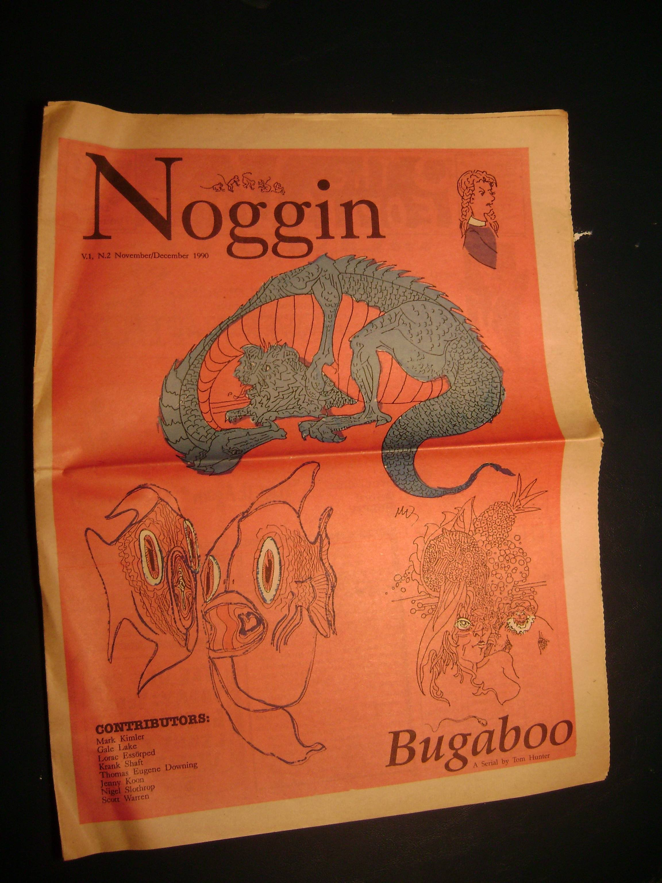 Noggin Magazine: V1N2, Nov/Dec 1990, Page 1