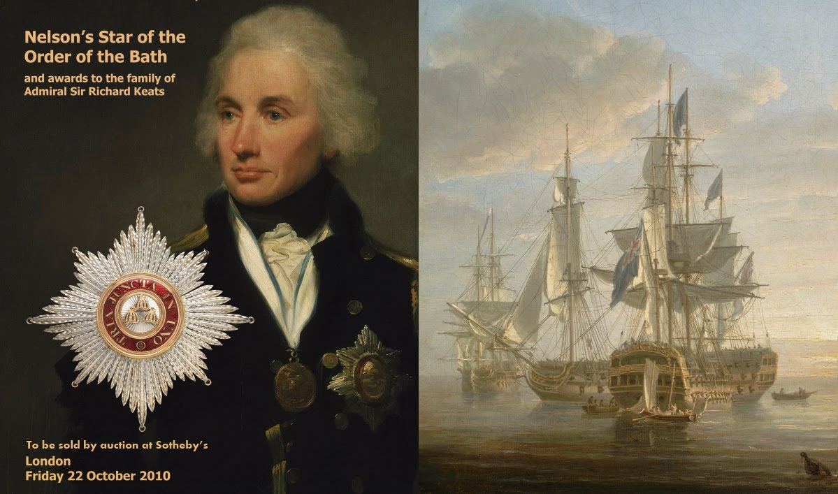 Nelson 39 S Star Of The Order Of The Bath