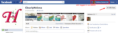 edit facebook page as admin