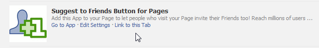 use the Suggest to Friends Button for your facebook page