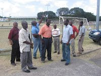 Technical Planners at Grove Park 13/3: Reps from SKNVibes, Info-Channel, LIME, Caribbean Cable Communications, Government Information Service(GIS), Information Technology (IT), Meet Secretariat & Management
