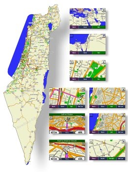 Garmin - City Navigator® Israel NT 2014.10 microSD /SD - Maps for