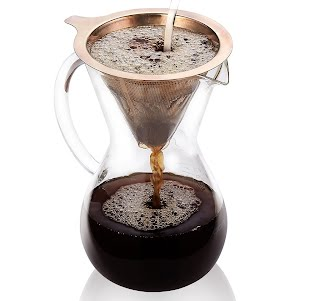 Review Gvode Pour Over Coffee Maker5 Cup 27ozhand Manual Coffee