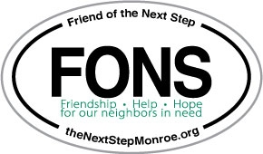 Friend of the Next Step Sticker