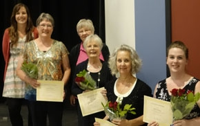 Volunteers honored