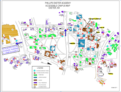 Phillips Exeter Academy Campus Map.Schedule Menu Campus Map Nhjcl Forum