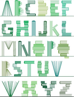 Letter Made Out Of Objects.Object A Font Digital Art Design Animation Nhs