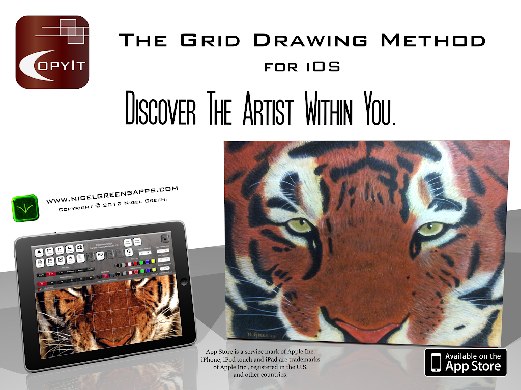 CopyIt - The Grid Drawing Method for iOS