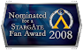 Nominated for a 2008 Stargate Fan Award