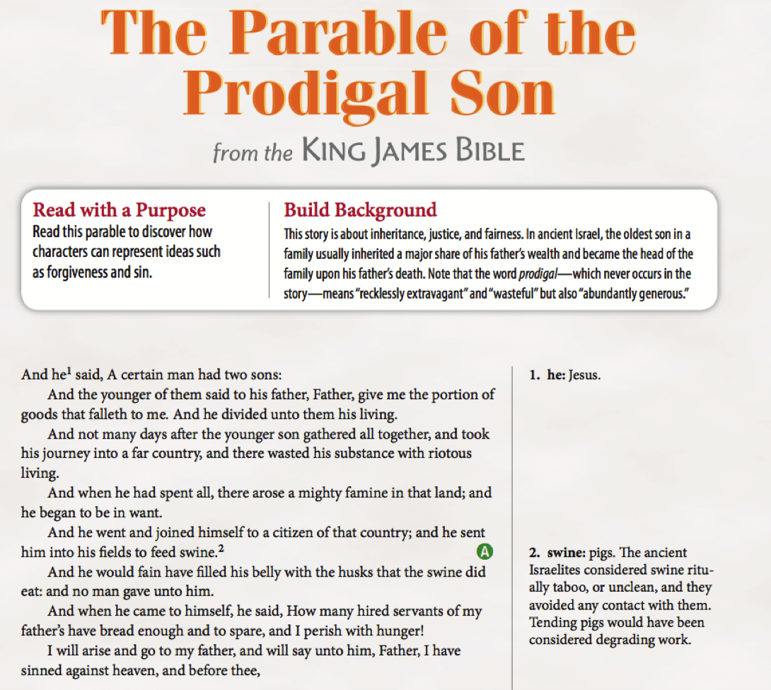 essay story on the subject of any son