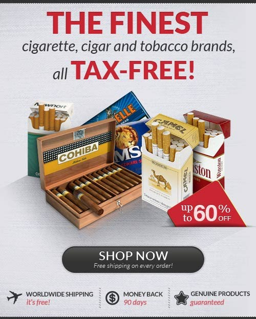 Buy cigarettes online USA Pall Mall