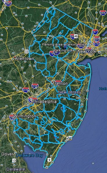 New Jersey Hunting Maps